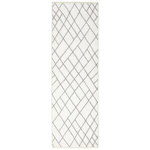 Novel BEHÚŇ, 80/250 cm, sivá, biela