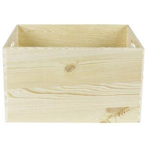 BOX, drevo, borovica