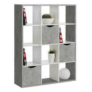 Carryhome DELIACA STENA, sivá, biela, 110/146/34 cm - sivá, biela