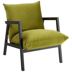 Carryhome KRESLO, textil, zelená - zelená