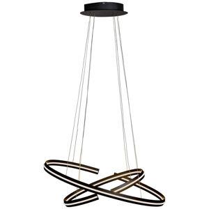 Ambiente LED ZÁVESNÁ LAMPA, 80/40/160 cm - čierna