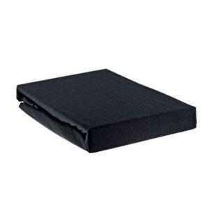 NAPÍNACIE PRESTIERADLO, čierna, 90/200 cm - čierna