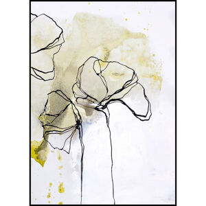 OBRAZ, kvety, 50/70 cm