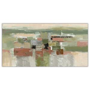Monee OLEJOMAĽBA, abstraktné, 180/70 cm
