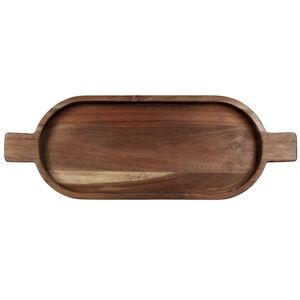 ASA PODNOS, drevo, 49,6/18/3,5 cm - farby agátu