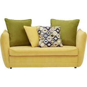 Ti`me POHOVKA PRE DETI A MLÁDEŽ, textil, hnedá, žltá, zelená - hnedá, žltá, zelená
