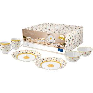 Villeroy & Boch RAŇAJKOVÁ SÚPRAVA, jemný porcelán (fine china)