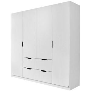 Boxxx SKRIŇA S OTOČNÝMI DVERAMI, biela, 181/197/54 cm - biela