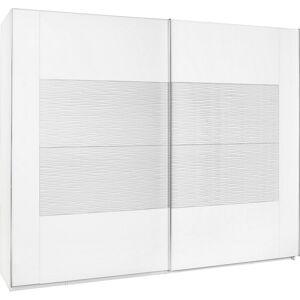 Xora SKRIŇA S POS. DVER. – HOR.VED., biela, 271/223/69 cm