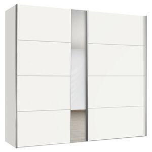 Hom`in SKRIŇA S POSUVNÝMI DVERMI, biela, 200/216/68 cm - biela