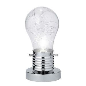 Novel STOLOVÁ LAMPA, E14, 12/23,5 cm - chrómová