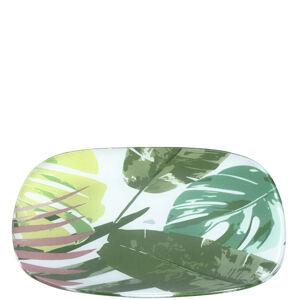 Leonardo TANIER, sklo, 26 cm - zelená, biela