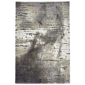 Esprit TKANÝ KOBEREC, 160/225 cm, antracitová, krémová, sivá, tmavosivá