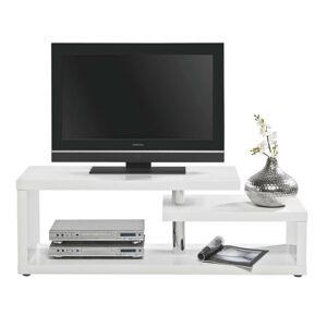Xora TV STOLÍK, biela, 130/45/40 cm - biela