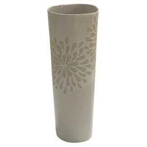 Ambia Home VÁZA, keramika, 31 cm - biela