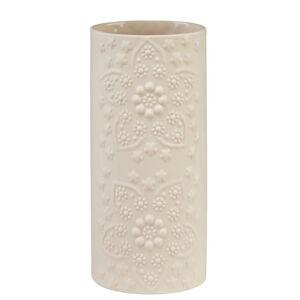 Ambia Home VÁZA, keramika, 20 cm - krémová